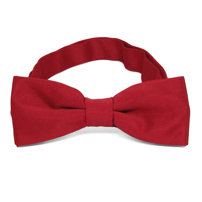 Boys' Festive Red Bow Tie