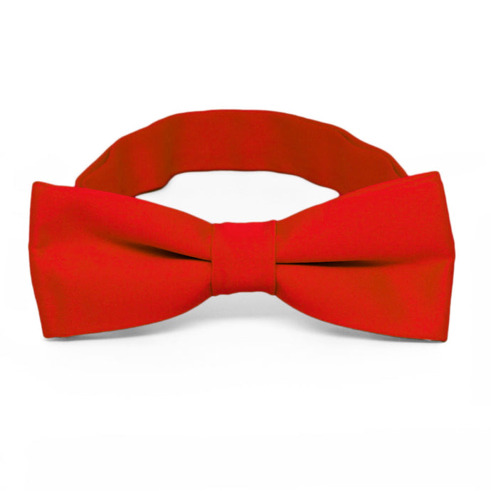 Boys' Fire Engine Red Bow Tie