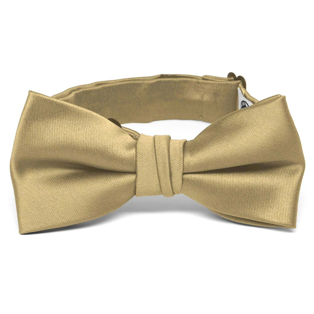 Boys' Golden Champagne Premium Bow Tie