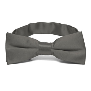 Boys' Graphite Gray Bow Tie