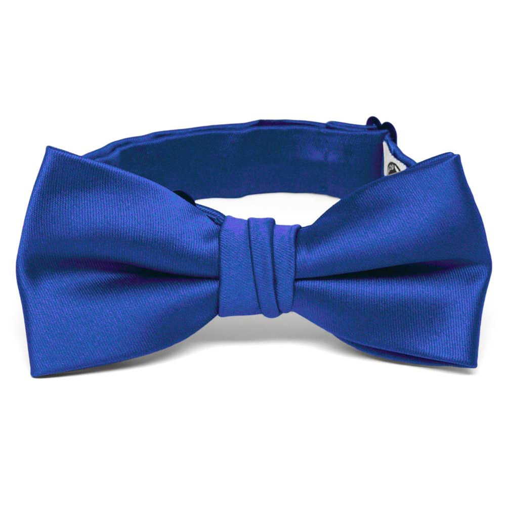 Boys' Horizon Blue Premium Bow Tie