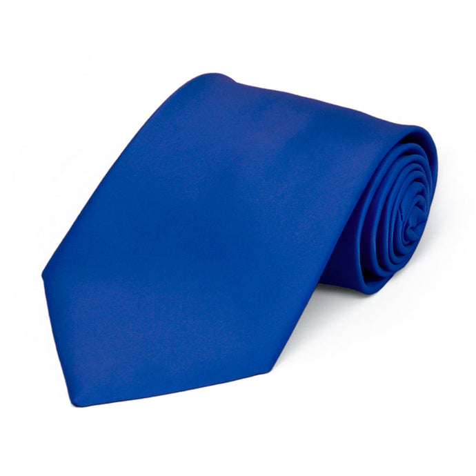 Boys' Horizon Blue Premium Solid Color Tie
