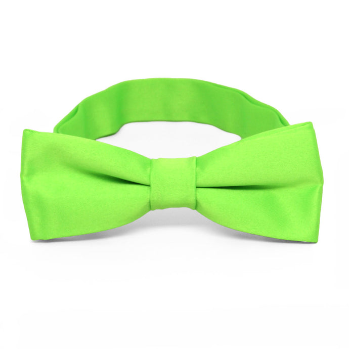 Boys' Hot Lime Green Bow Tie