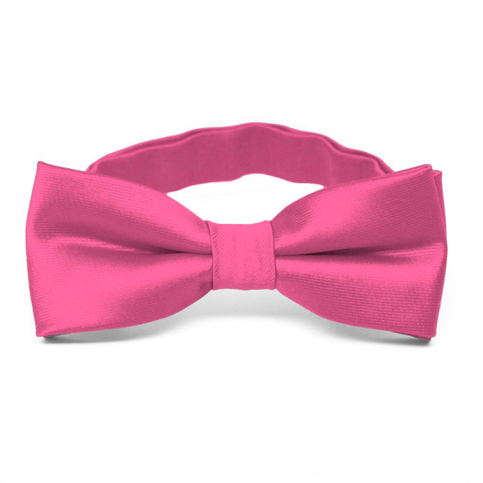 Boys' Hot Pink Bow Tie