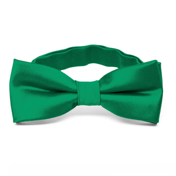 Boys' Kelly Green Bow Tie
