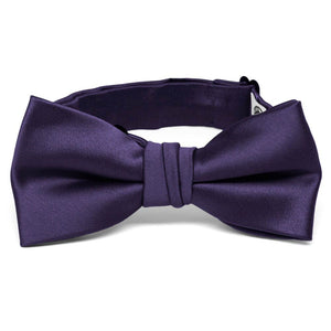 Boys' Lapis Purple Premium Bow Tie