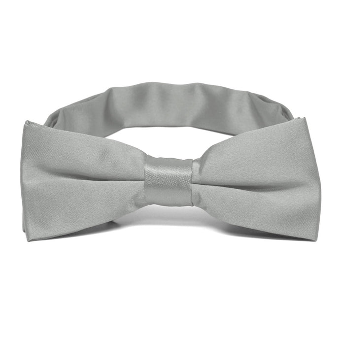 Boys' Mercury Silver Bow Tie