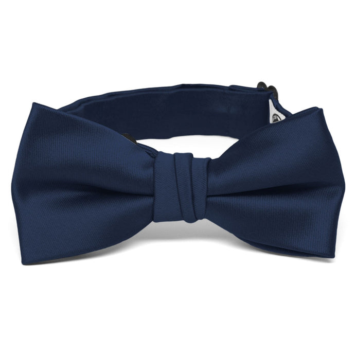Boys' Navy Blue Premium Bow Tie