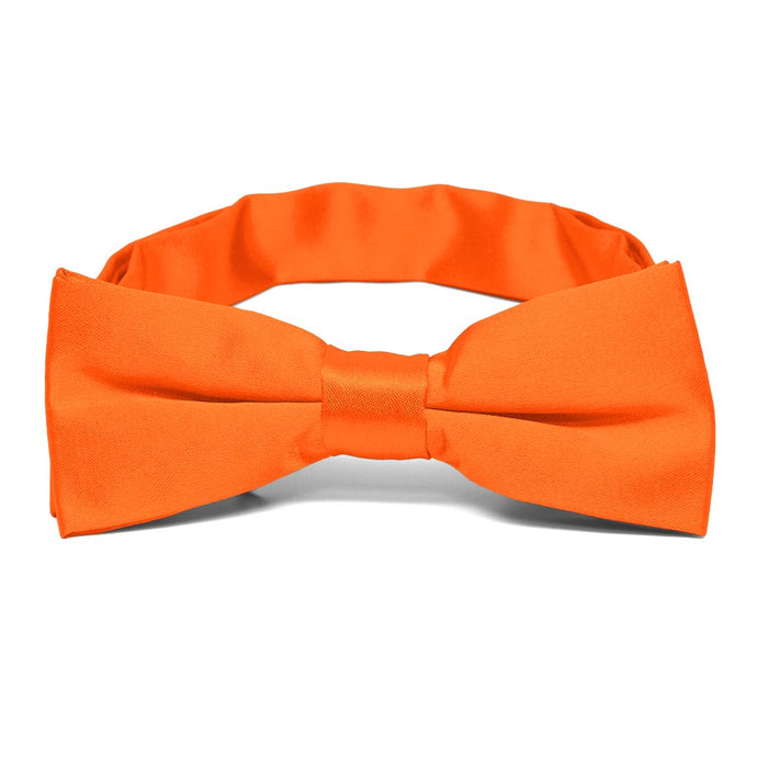 Boys' Neon Orange Bow Tie
