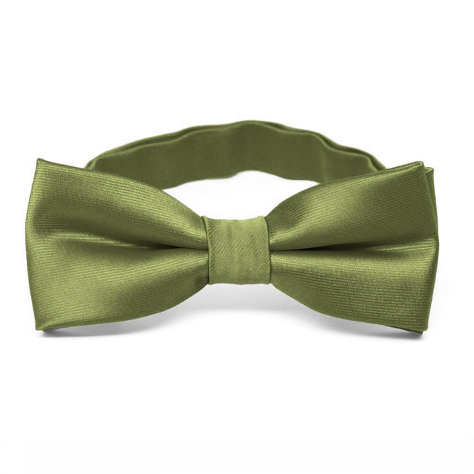 Boys' Olive Green Bow Tie