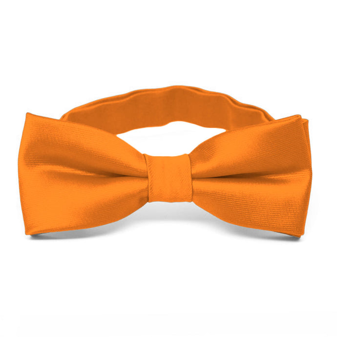 Boys' Orange Bow Tie