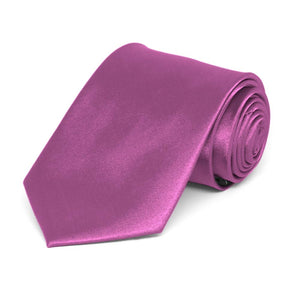 Boys' Orchid Solid Color Necktie