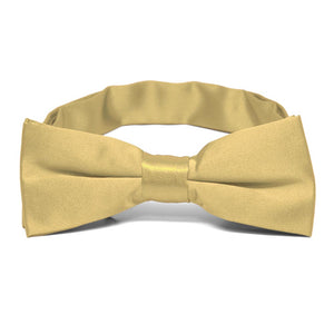 Boys' Pale Gold Bow Tie