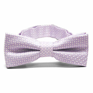 Boys' Pale Lavender Henry Grain Pattern Bow Tie