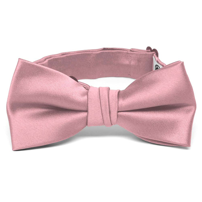 Boys' Pink Champagne Premium Bow Tie