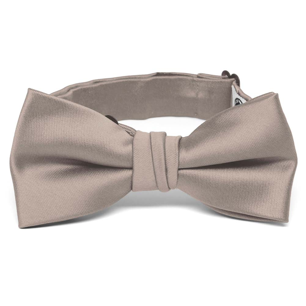 New KID/'S BOY/'S 100/% Polyester Pre-tied Bow tie only beige formal wedding