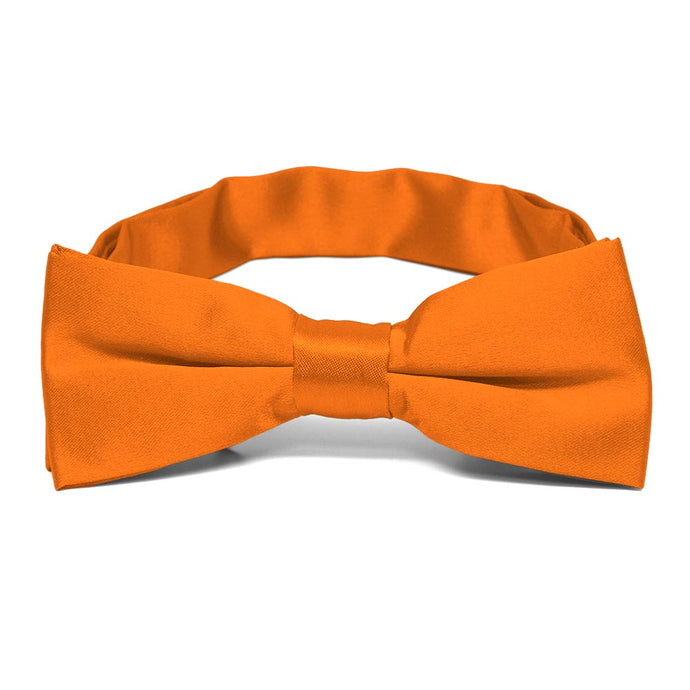 Boys' Pumpkin Orange Bow Tie