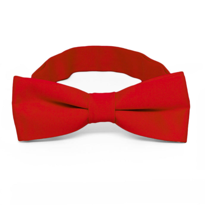 Boys' Red Bow Tie