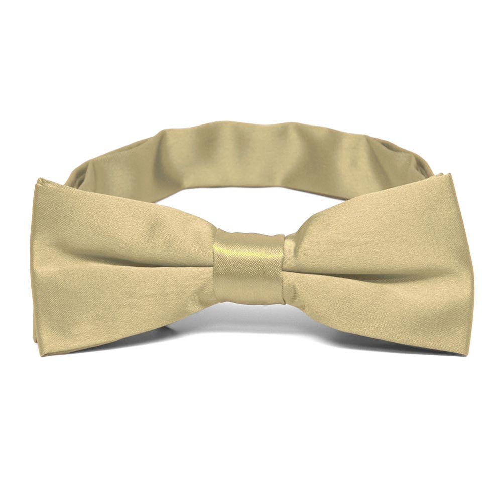 Boys' Sparkling Champagne Bow Tie