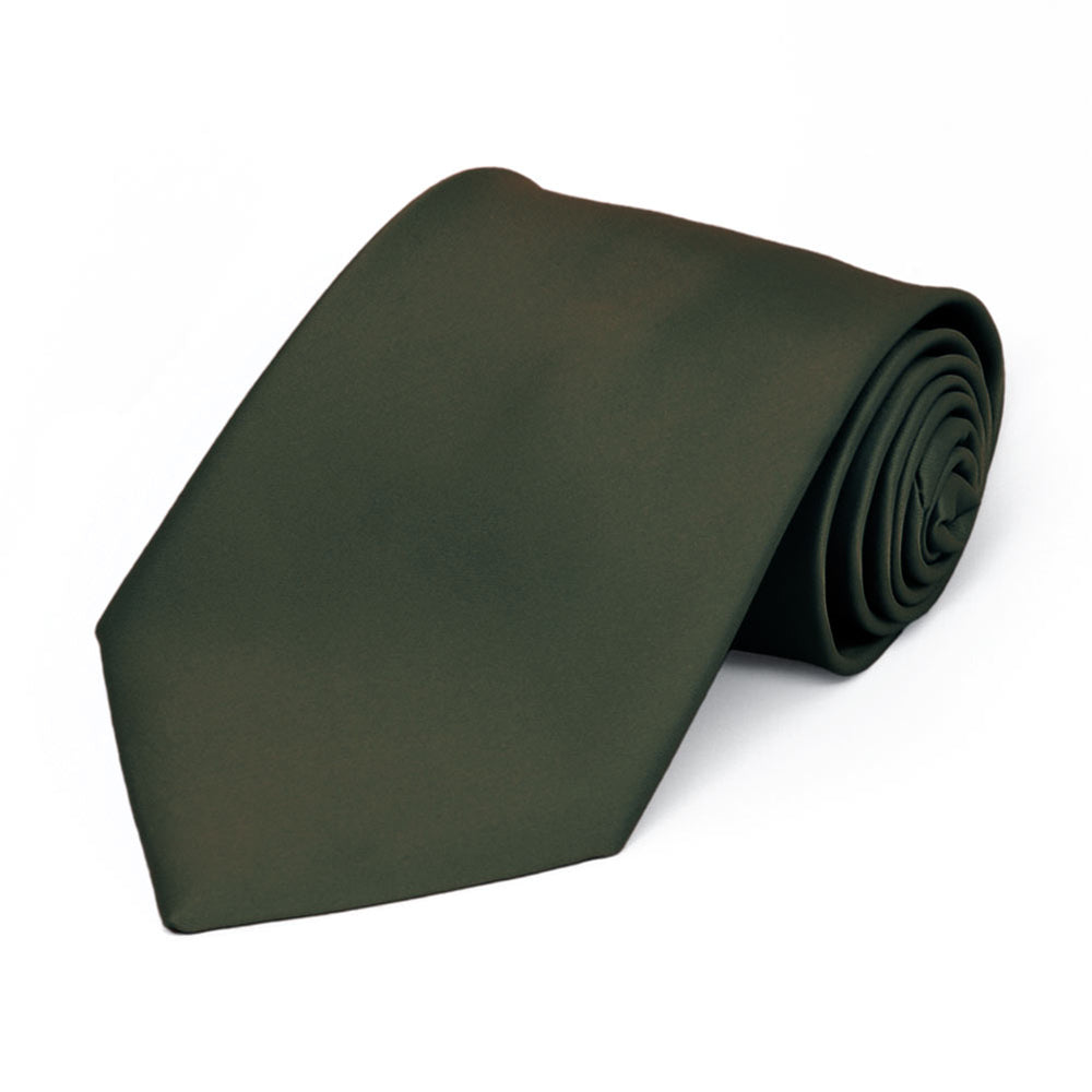 Boys' Tarragon Premium Solid Color Tie