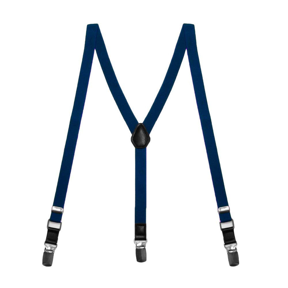 Boys' Twilight Blue Skinny Suspenders