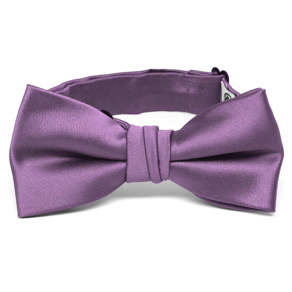 Boys' Wisteria Purple Premium Bow Tie