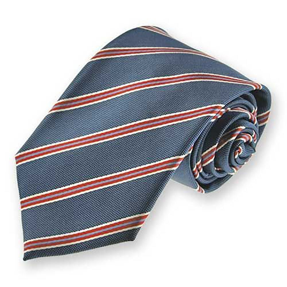 Boys' Denim Blue Melvin Stripe Necktie