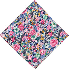 Load image into Gallery viewer, Brentwood Floral Cotton Pocket Square