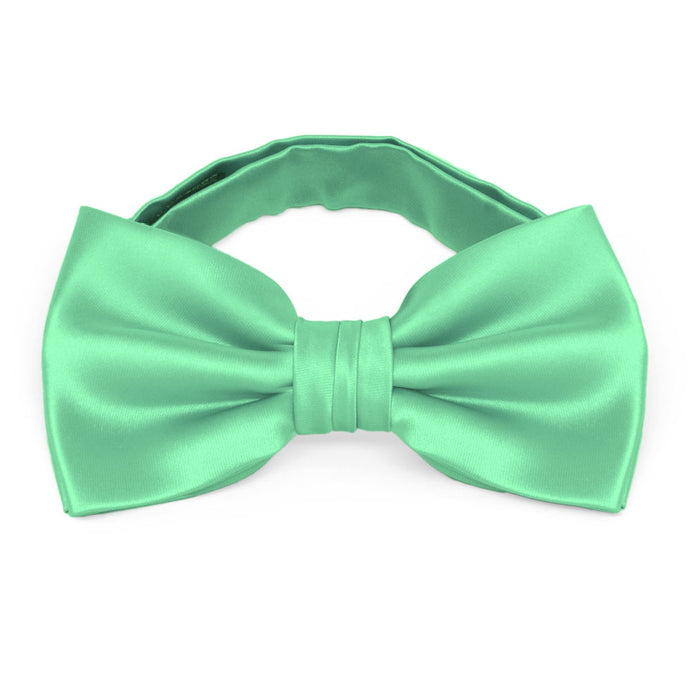 Bright Mint Premium Bow Tie