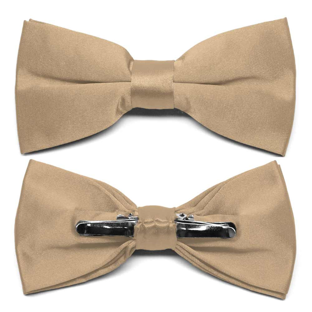 Bronze Clip-On Bow Tie