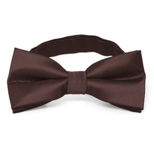 Brown Band Collar Bow Tie