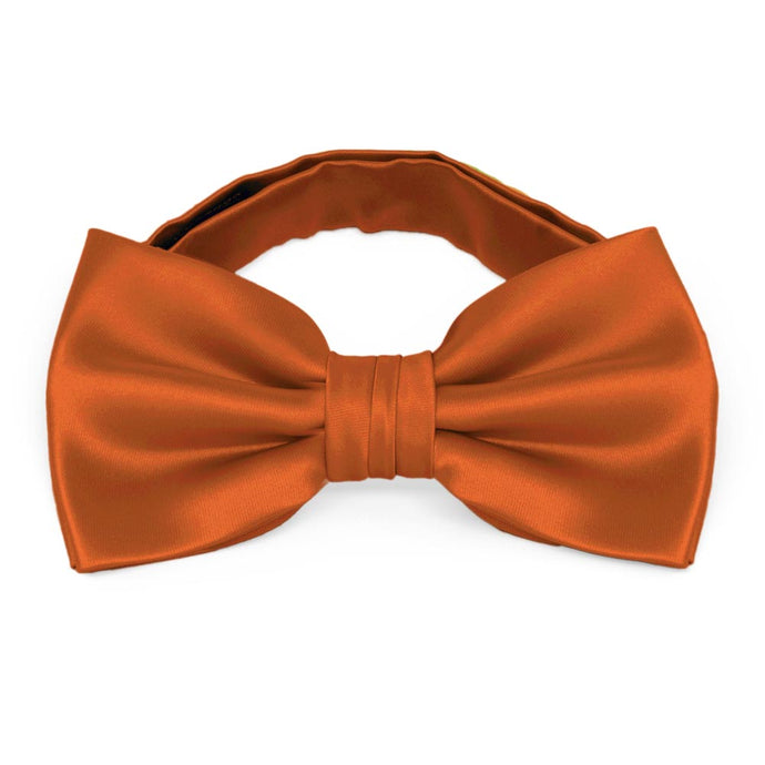 Burnt Orange Premium Bow Tie