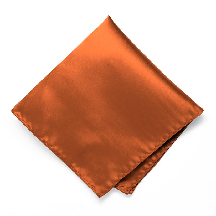 Burnt Orange Premium Pocket Square