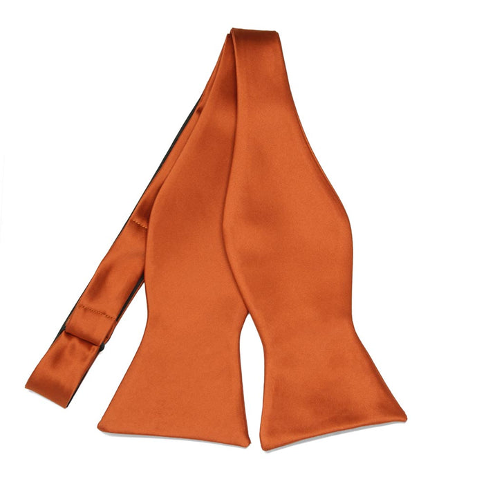 Burnt Orange Premium Self-Tie Bow Tie