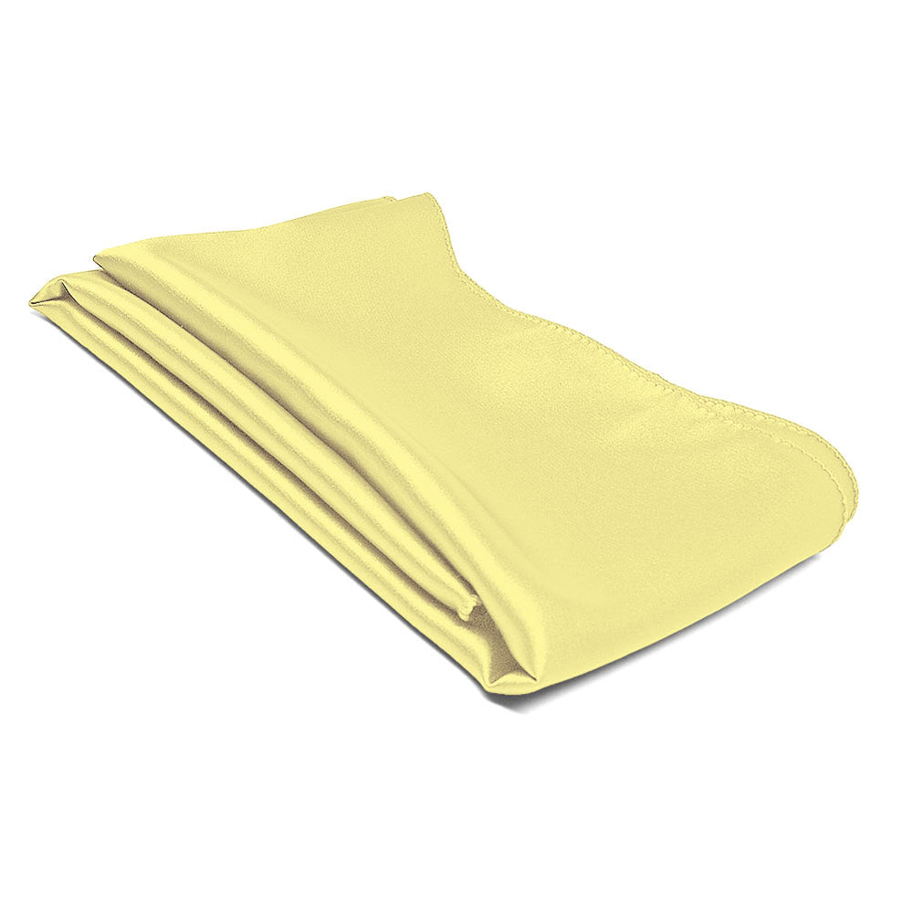 Butter Yellow Solid Color Scarf