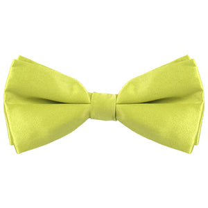 Chartreuse Silk Bow Tie