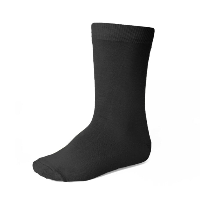 Boys' black socks
