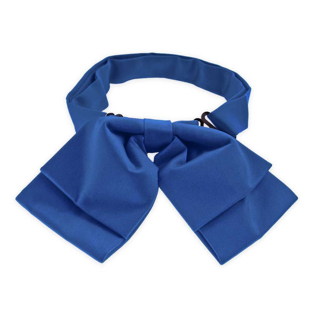 Cobalt Blue Floppy Bow Tie