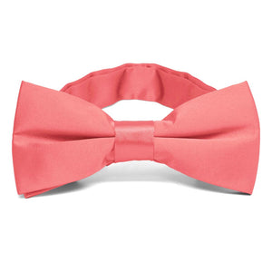 Coral Band Collar Bow Tie