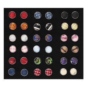 18-pack men's cufflinks