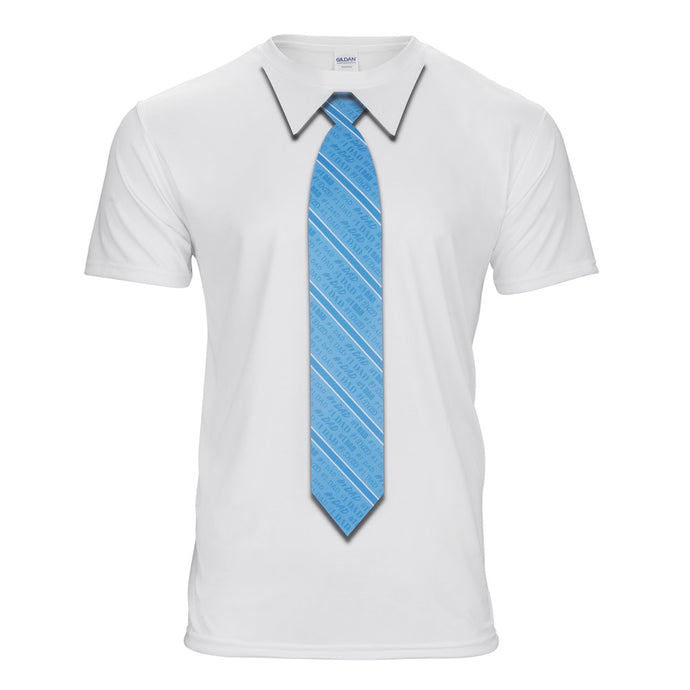 Dad Striped Necktie T-Shirt