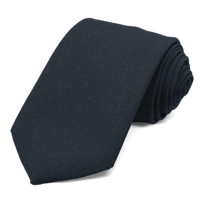 Men's Dark Navy Uniform Necktie