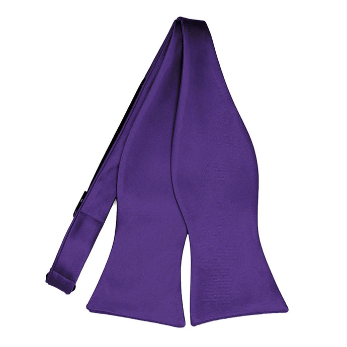 Dark Purple Self-Tie Bow Tie