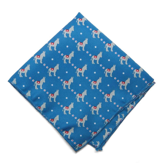 Democrat Donkey Pocket Square