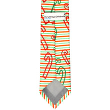 Load image into Gallery viewer, DPCF Candy Cane Necktie