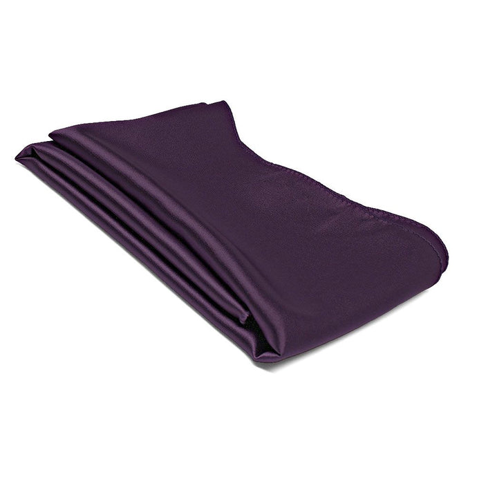 Eggplant Purple Solid Color Scarf