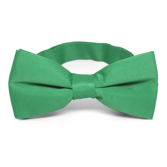 Emerald Green Band Collar Bow Tie
