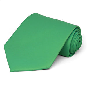 Emerald Green Solid Color Necktie