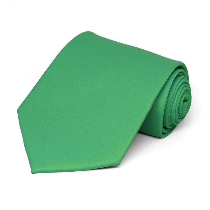 Emerald Green Staff Tie