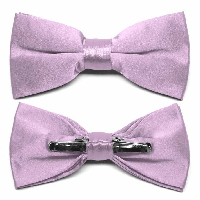 English Lavender Clip-On Bow Tie